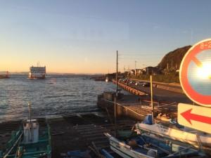 しっかし太陽の光が眩しいぜ!同じ日本とは思えないなー。